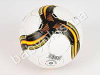 Мяч футбольный, размер 5, ПУ, 1,4мм, 4 слоя, 32 панели, 400-420г, 2 цвета