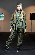 Детский камуфляж костюм для мальчиков Лесоход цвет хаки, фото 3