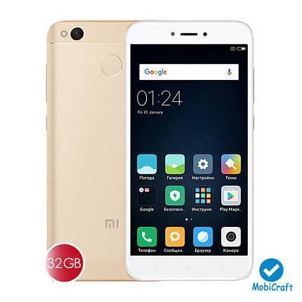 Мобильный телефон Xiaomi Redmi 4X LTE 3/32Gb Gold, фото 2