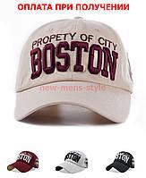 Мужская женская жіноча чоловіча модная кепка бейсболка BOSTON блайзер
