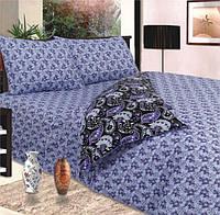 Комплект постельного белья евро пододеяльник-220*200 простынь-220*240 наволочки-70*70 сублимация 079