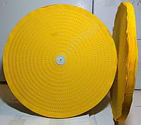 Круг полировальный муслиновый 400х10х6 желтый