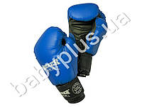 Перчатки боксерские 8oz (кожвинил 0,6мм, нап. -пенопоролон) синие