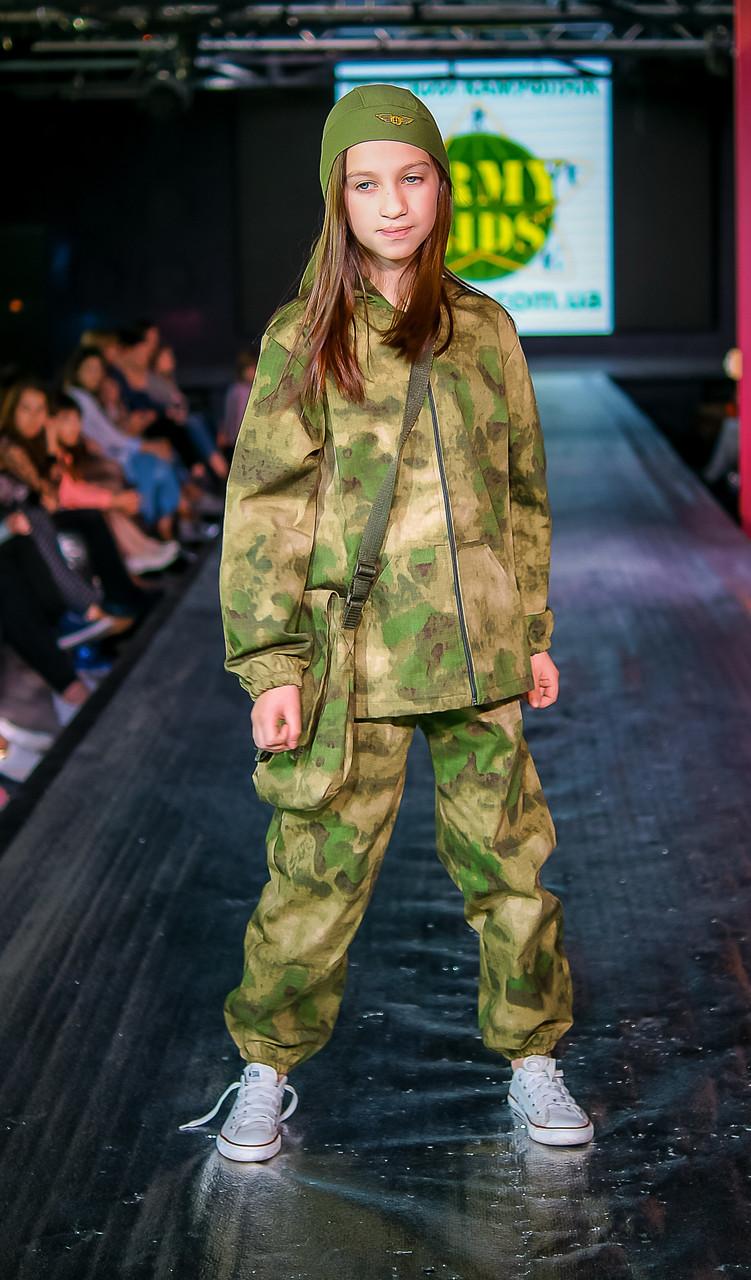 Детский камуфляж костюм для мальчиков Лесоход цвет A-TACS