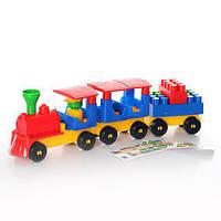 Конструктор Волшебный поезд. ТехноК 0274