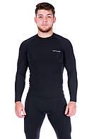 Рашгард мужской Totalfit RM4 XS черный
