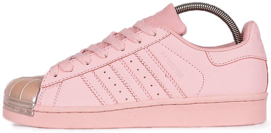 Женские кроссовки adidas Superstar Pink (Адидас Суперстар) розовые