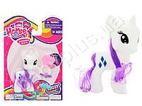 Лошадка My Little Pony, 11см, расческа, на листе