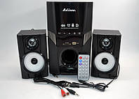 Колонки + сабвуфер 2.1 AiLiang USBFM-F30DC-DT (2x3 Вт + 10 Вт)