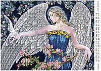 """Схема для частичной вышивки бисером """"Ангельские крылья"""""""