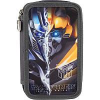 Пенал Kite Transformers - 2 отдела