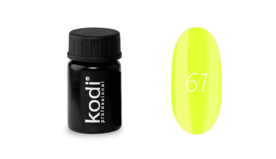 Гель-фарба Kodi Professional 4 мл №61
