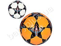 Мяч футбольный TPU, 3мм, 400г, 2 цвета, в кульке