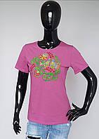 Вышиванка женская футболка короткий рукав