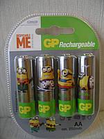 GP ReCyko - AA (пальчиковые) аккумуляторы с низким саморазрядом (eneloop)