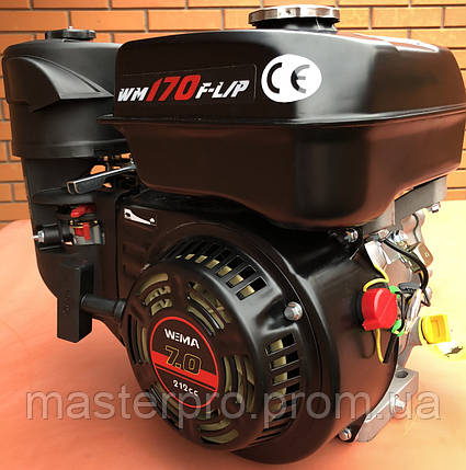 Двигатель с понижающим редуктором Weima WM170F-L New (1800 об/мин. 7 л.с.), фото 2