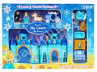 Замок принцессы, 16-22см, карета, мебель, фигурки, музыка, свет, на бат-ке(табл), в коробке