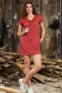 Платье Totalfit D-1 M Темно-розовый