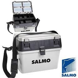 Ящик зимовий пластиковий (низький) SALMO 38х24,5см; h-29см (2070)