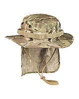 Панама брит. спецназа с защитой шеи multicam