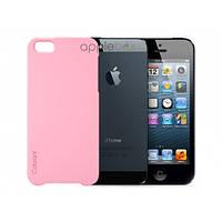 Чехол-накладка Apple High Copy Case for iPhone 5/5S Pink MF0PK_HC