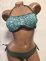 Купальник женский раздельный.хаки M&M Secret 3710-1, фото 1