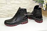 Ботинки для девочки на утолщённой подошве, цвет черный, фото 3