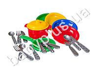 Набор посуды Маринка №10 , 19 предметов