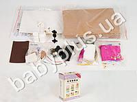 Шкаф для кукол сделай-сам, деревянный, 2 ящика, муз, свет, на бат-ке, в кор-ке