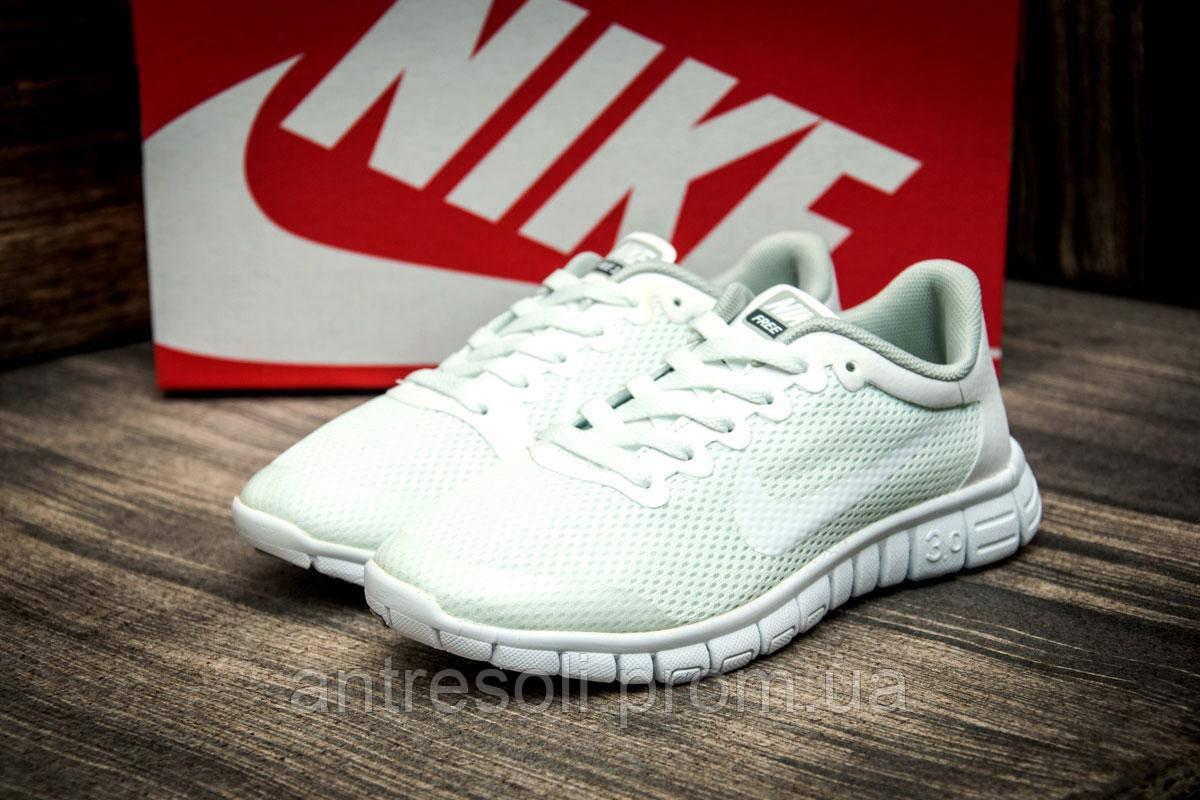 Кроссовки женские Nike Free Run 3.0, белые (2509-4),  [   36 37 38  ]