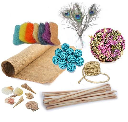 Натуральные декоративные материалы