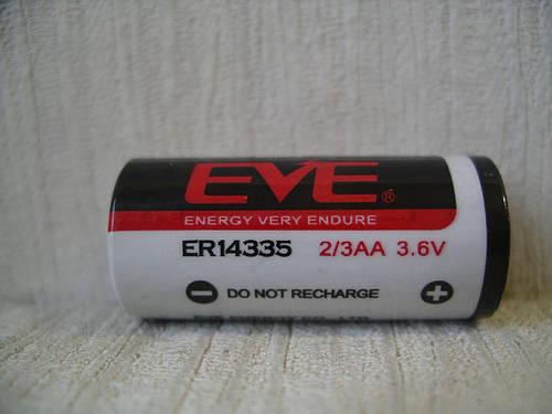 EVE ER14335 (SL-761/S) литиевая батарейка 3.6V
