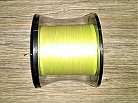 Шнур плетеный Chi Tian 500м 0.14мм желтый