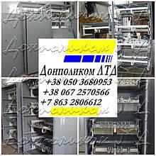 Блоки, щиты, шкафы пускорегулирующих резисторов.