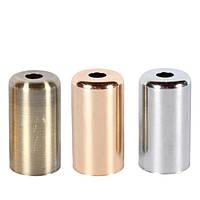 Стальная гильза для патрона Е-14 (бронза) (золото) (хром)