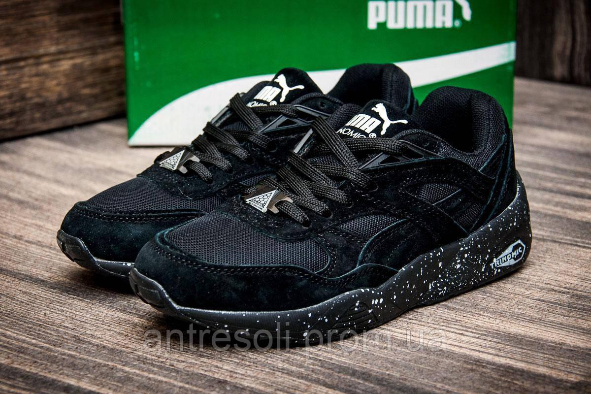 Кроссовки женские Puma TRINOMIC, черные (4252-3),  [   37  ]