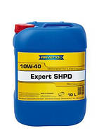 Моторное масло ravenol 10W-40 expert SHPD  кан.10л  для дизельных двигателей грузовых автомобилей.