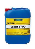 Моторное масло ravenol 10W-40 expert SHPD  кан.10л  для дизельных двигателей грузовых автомобилей., фото 1