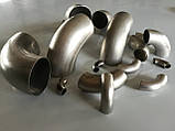 Отвод нержавеющий 42,4х3,0 (R=47,6мм) , фото 2