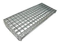 Настилочные стальные ступени лестничные