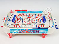 Хоккей на штангах, 14 фигурок, 2 шайбы, наклейки, в кор-ке