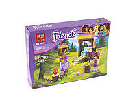 Конструктор FRIENDS, игровая площадка, тир, фигурка, 117 деталей, в коробке