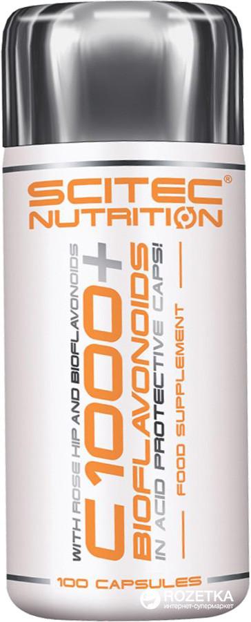 C 1000 + Bioflavonoid 100 капсул мощный антиоксидант от скайтек