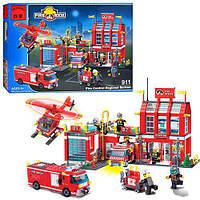 Конструктор BRICK Пожарная тревога 911