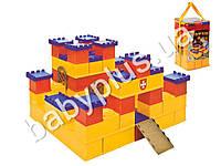 Конструктор детский Крепость (41 деталь) в сумке