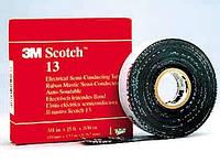 3M Scotch 13 - самовулканизирующаяся (самослипающаяся) полупроводящая лента на основе ЭПР, рулон 19 мм х 4,5 м