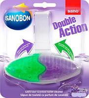 Туалетный блок Sano Двойное действие Лаванда 55 г