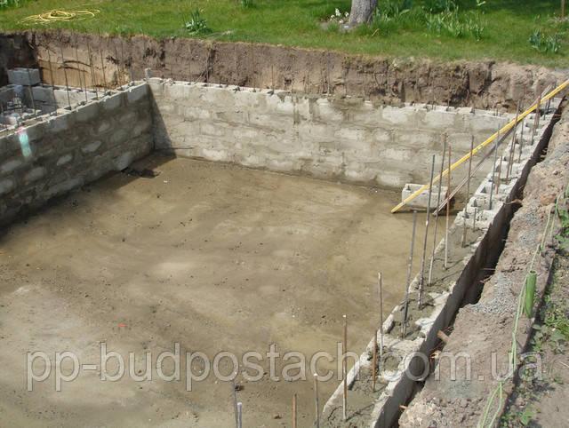 Технологія будівництва бетонного басейну