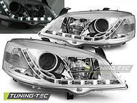 Передние фары тюнинг оптика Opel Astra G