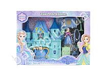 Замок Frozen, для принцессы, 29см, музыка, свет, мебель, фигурка 10см, на бат-ке (табл), в коробке